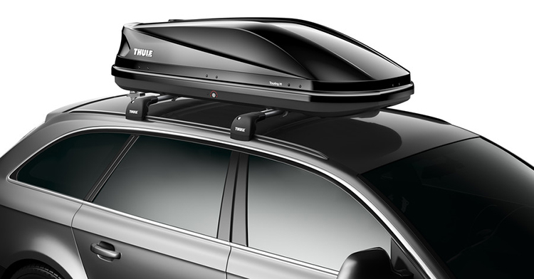 roof box thule touring 200 M กล่องหลังคารถมือสอง